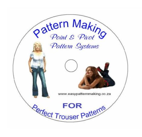 Easy Pattern Making - Make Perfect Trouser Patterns DVD