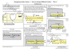 General Pattern Ruler Kit - Designing Collars P2