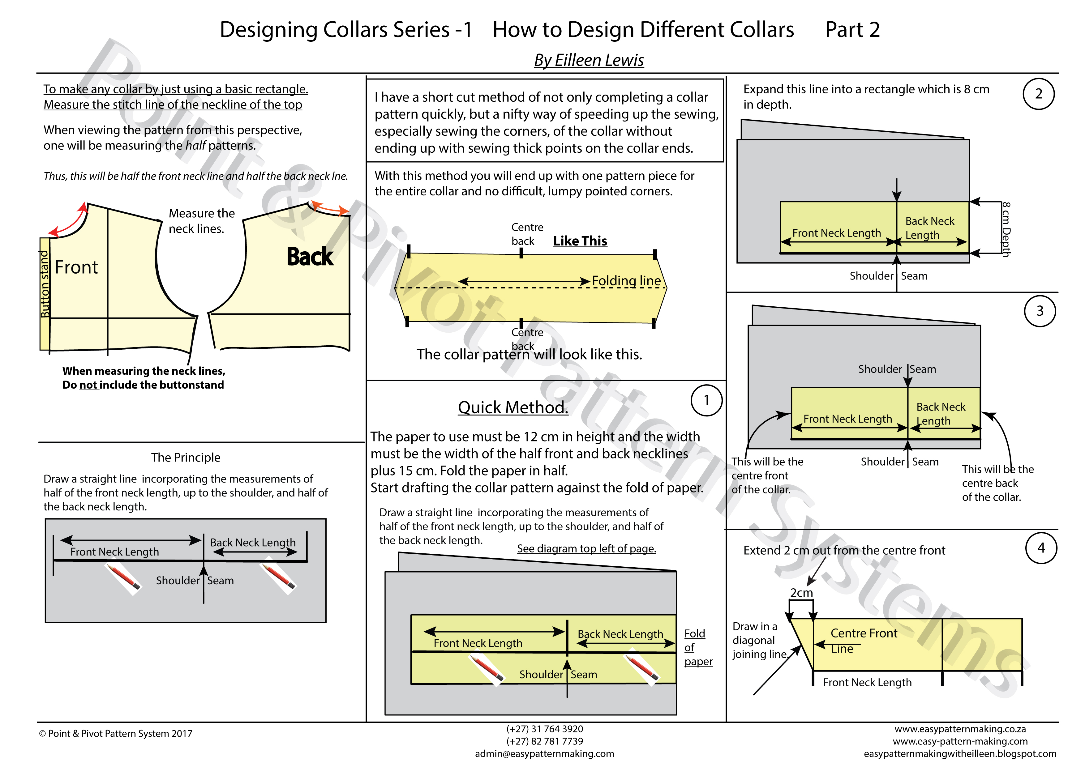 General Pattern Ruler Kit – Designing Collars P2