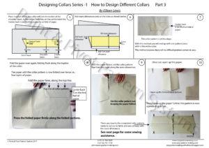 General Pattern Ruler Kit - Designing Collars P3