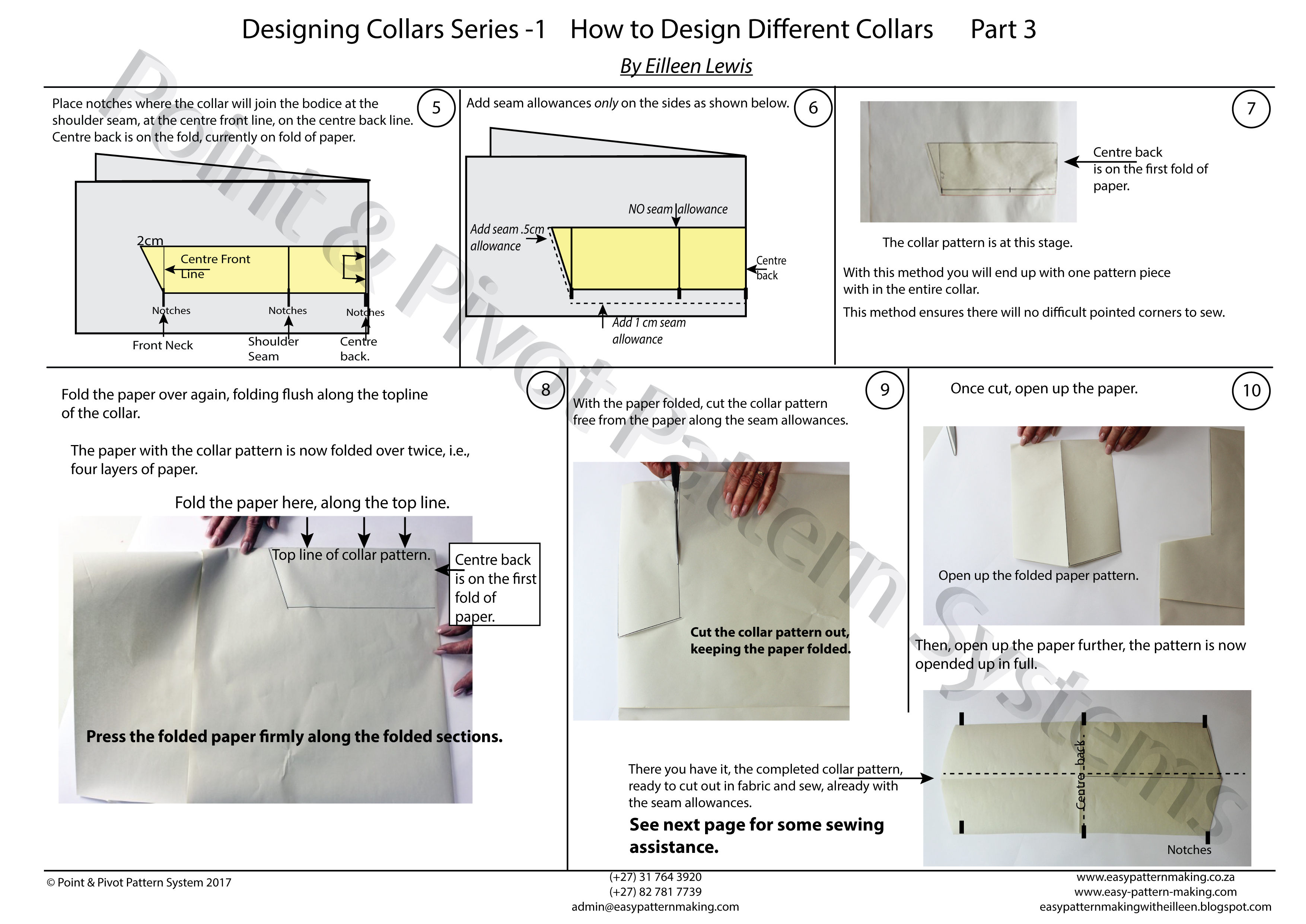 General Pattern Ruler Kit – Designing Collars P3