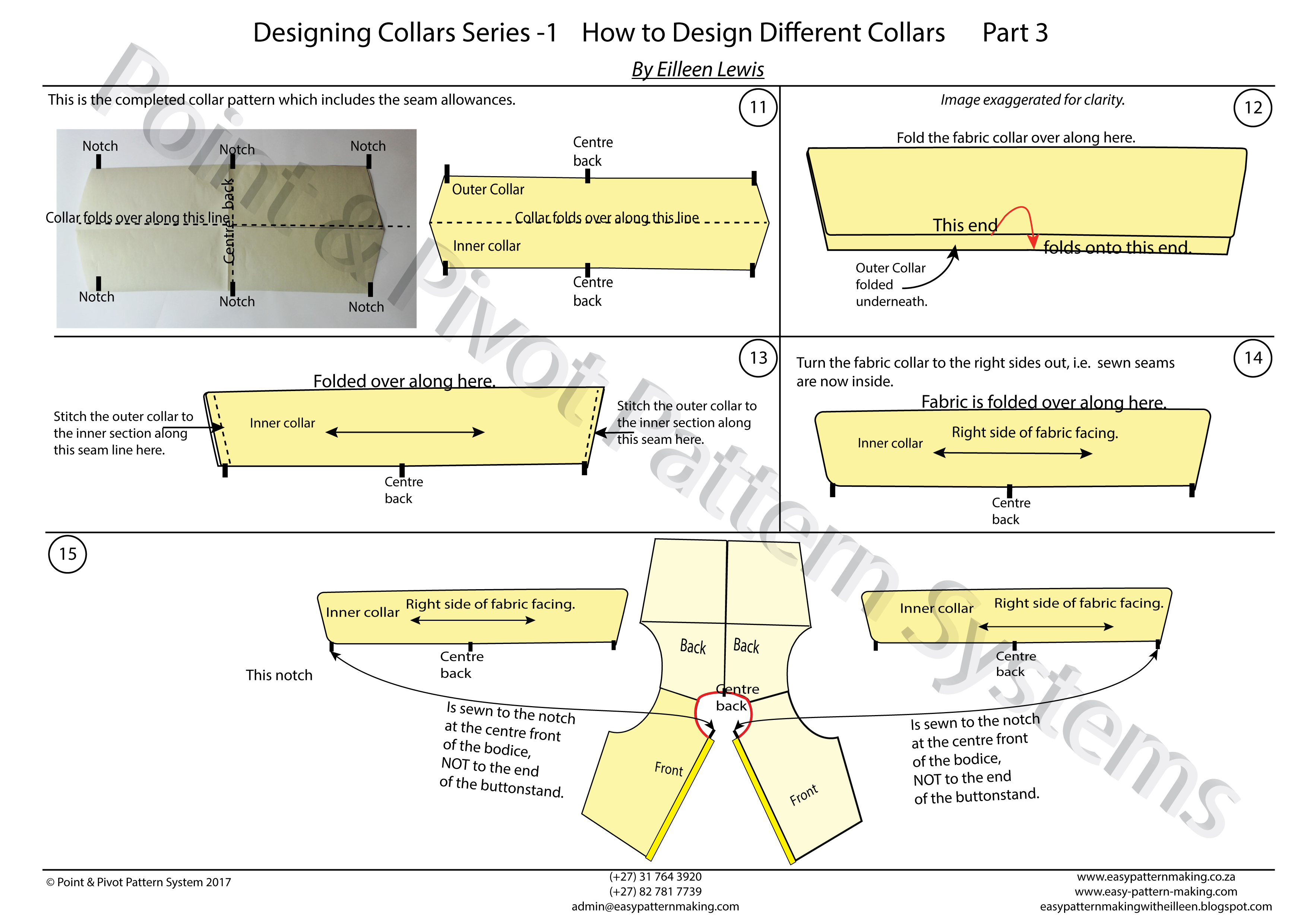 General Pattern Ruler Kit – Designing Collars P4