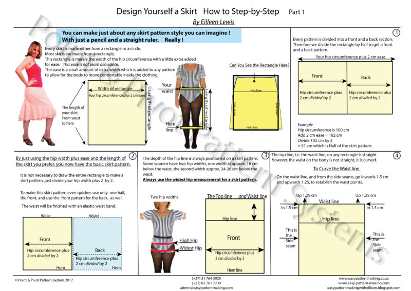 Pattern Techniques - How To Design A Skirt